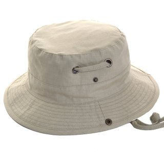Wholesale unisex safari hat with wide press-studs