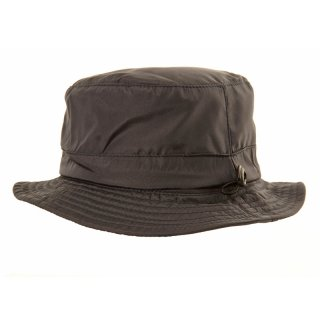 Wholesale bush hat with showerproof protection in black