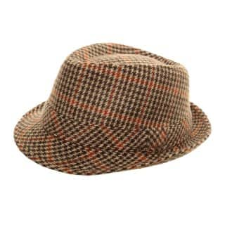 Wholesale country tweed trilby