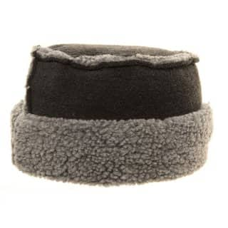 Wholesale pillbox hat with 2 tone fleece