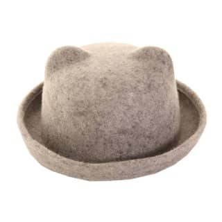 A433 - LADIES FELT BOWLER WITH EARS