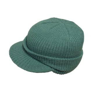 Wholesale womens knitted hat with peak