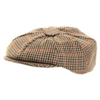 Wholesale 8-Panel cap in tweed
