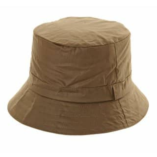 Wholesale wax bucket hat with developed from polyester and cotton in olive