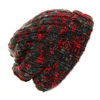 Wholesale chunky knit baggy beanie hat