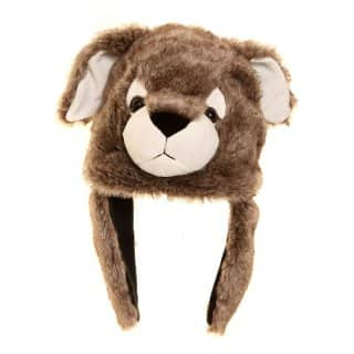 A633 - ADULTS BEST QUALITY NOVELTY RABBIT TRAPPER HAT