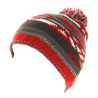 A681 - WHOLESALE UNISEX KNITTED SKI HAT