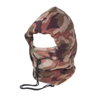Wholesale fleece camouflage snood