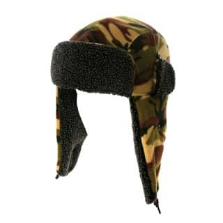 Wholesale camo fleece trapper