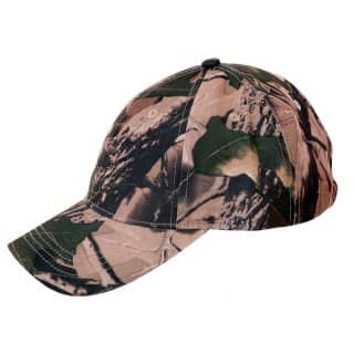 Wholesale woodland camo baseball cap
