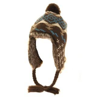A692 - WHOLESALE UNISEX FUR LINED PERU HAT
