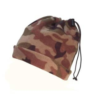 A700 - ADULTS FLEECE CAMO NECKWA700 - ADULTS FLEECE CAMO NECKWARMER / TOGGLE ADJARMER