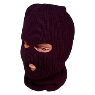 Whoelsale black 3 hole SAS balaclava