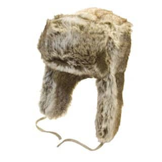 ADULTS' UNISEX FAKE FUR TRAPPER