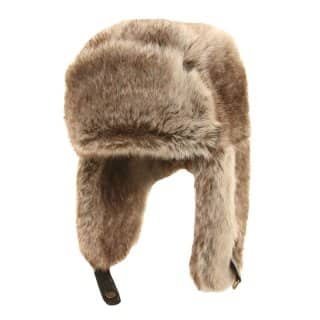 MEN'S BROWN FUR TRAPPER