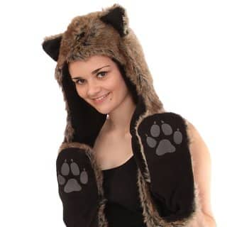 ADULTS FUR HOOD