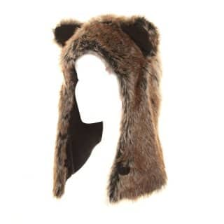 Wholesale Adults hood developed from faux fur in short size