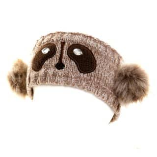 Wholesale novelty bear knitted headbands