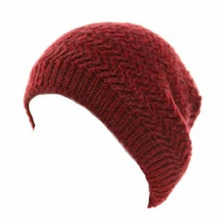 Wholesale red supersoft slouch beanie