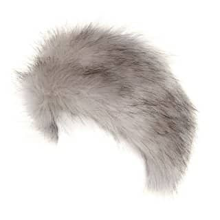 A921 - LADIES WHOLESALE FAUX FUR ELASTICATED HEADBAND