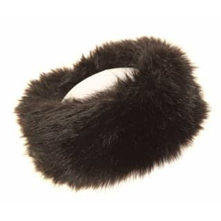 A922 - LADIES HIGH QUALITY FAUX FUR HEADBAND