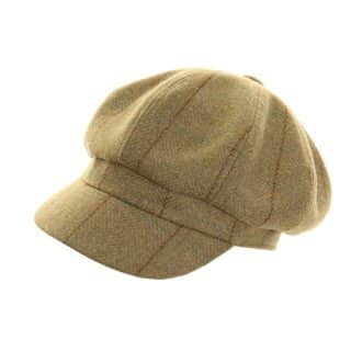 Wholesale tweed bakerboy cap