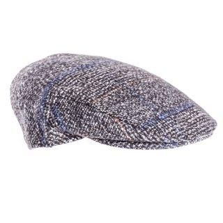 AE52-MENS TWEED FLAT CAP