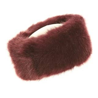 Wholesale ladies quality purple faux fur headband