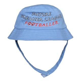 B15 - SALE - BABIES' 'FUTURE PREMIER LEAGUE FOOTBALLER' HAT