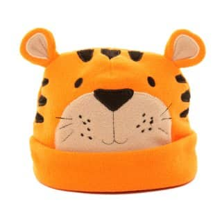 B225 - BABIES SOFT FLEECE SKULL CAP - ASSORTED ANIMALS