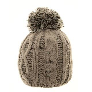 Wholesale baby boys 2-tone bobble hat