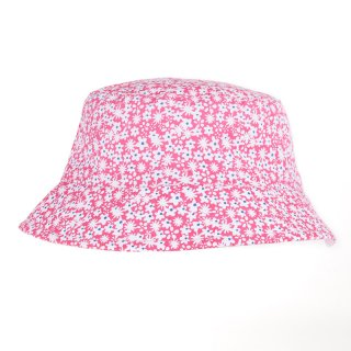Wholesale baby girls ditsy and floral print bush hat