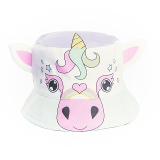 Wholesale babies novelty unicorn bush hat developed from cotton