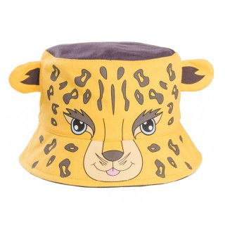 Wholesale babies novelty leopard bush hat developed from cotton