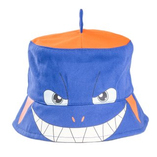 Wholesale blue babies shark bush hat developed from cotton