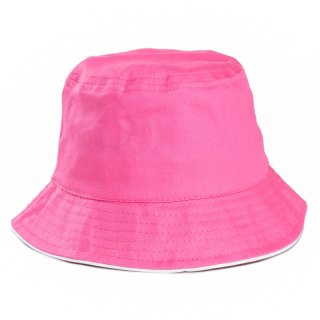 Wholesale plain babies bush hat in pink developed from cotton