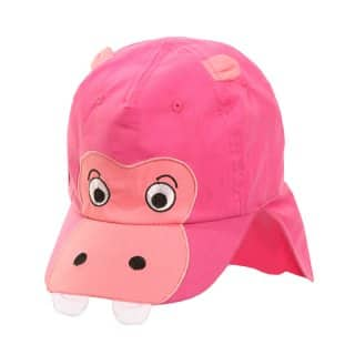 Wholesale pink infants unisex hippo legionnaire cap