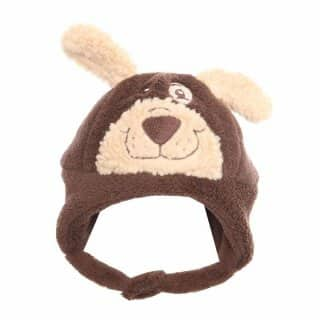 YOUNG CHILDREN'S FURRY BEAR HAT