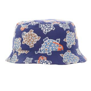 B90 - BABIES TURTLE PRINT BUSH HAT