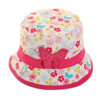 GIRL'S BUTTERFLY BUSH HAT