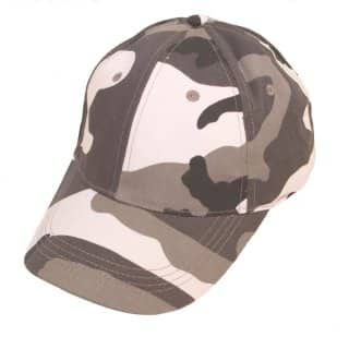 CAMOUFLAGUE BASEBALL CAP