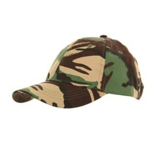 Wholesale childrens camouflage baseball