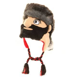 Wholesale childs novelty character peru hats with woodsman design