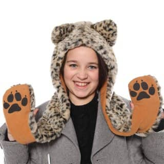 CHILDREN'S FUR HOOD