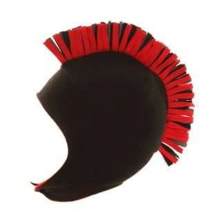 Wholesale boys fleece red mohican trapper hat