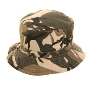 Wholesale reversible green camo bush hat for children