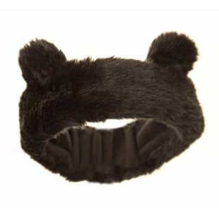 C408 - GIRLS FAUX FUR HEADBAND WITH NOVELTY EARS