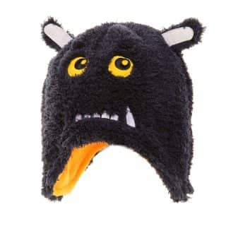 C416 - CHILD'S SOFT FLEECE MONSTER HAT