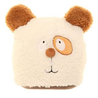 Bulk childs soft fleece novelty bear beanie