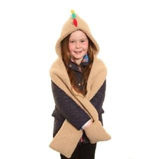 C424 - KIDS NOVELTY MONSTER FLEECE HAT/HOOD